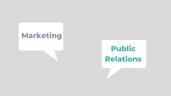 Public Relations and Marketing: What's the Difference?